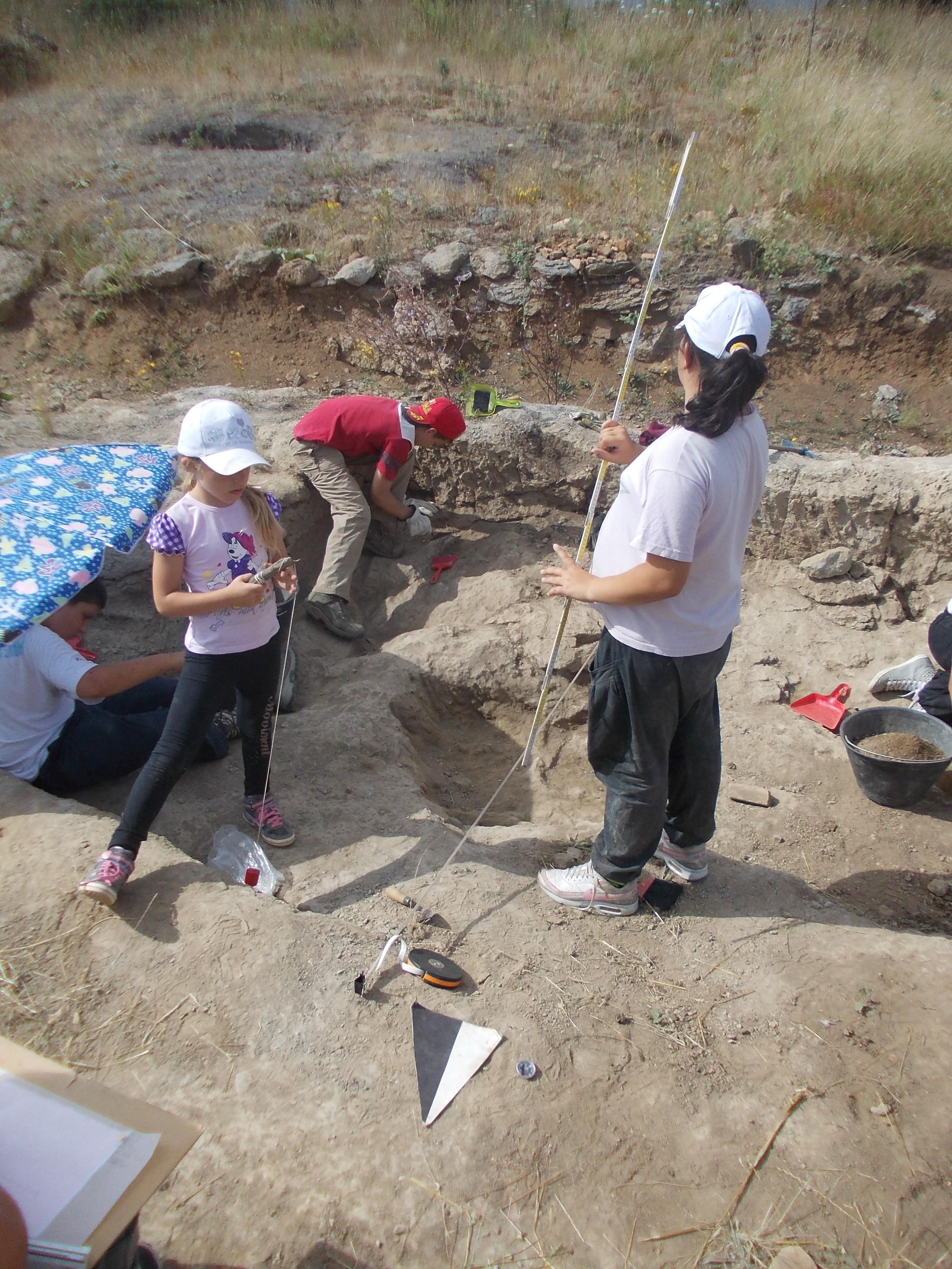 Scavi Archeologici per giovanissimi