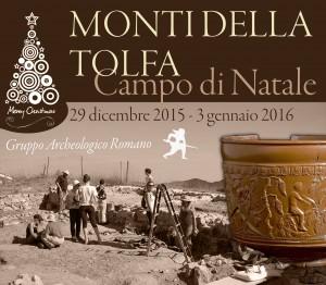 Campo di Natale: Monti della Tolfa