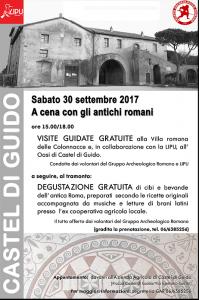 Locandina Castel di Guido 2