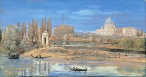 Castel Sant'Angelo e il Vaticano dai Prati di Castello 30